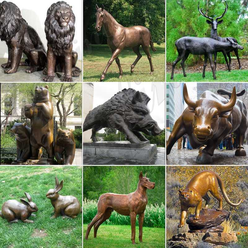 Outdoor Large Bronze Elephant Statue for Sale