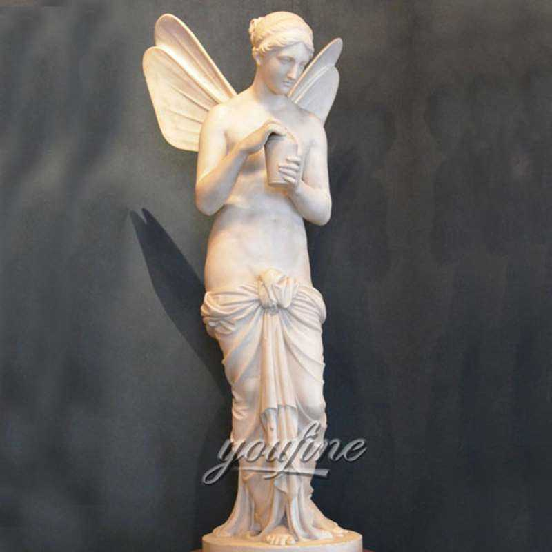 Psyche Angel With Wings Marble Statues