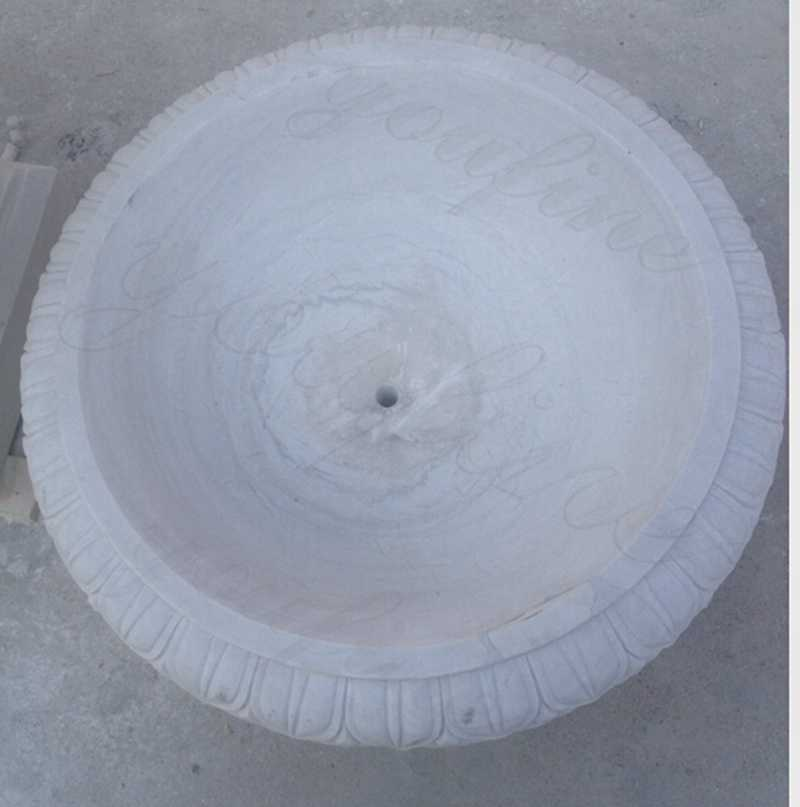 Round Marble Planter Pots for sales