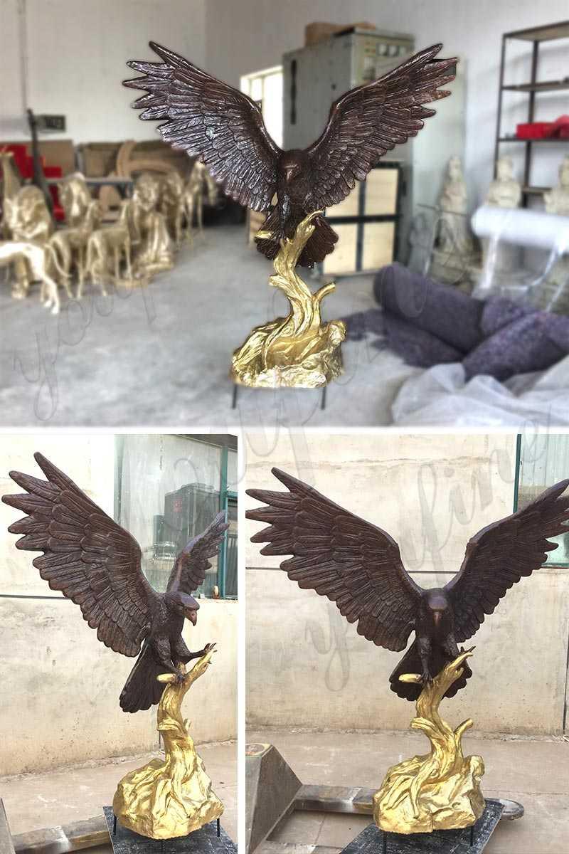 bronze-eagle-sculpture