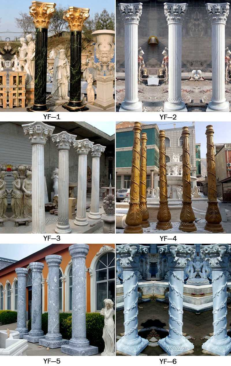 exterior house pillars design for sale