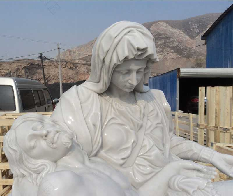 life size famous religious pieta statue for sale_副本