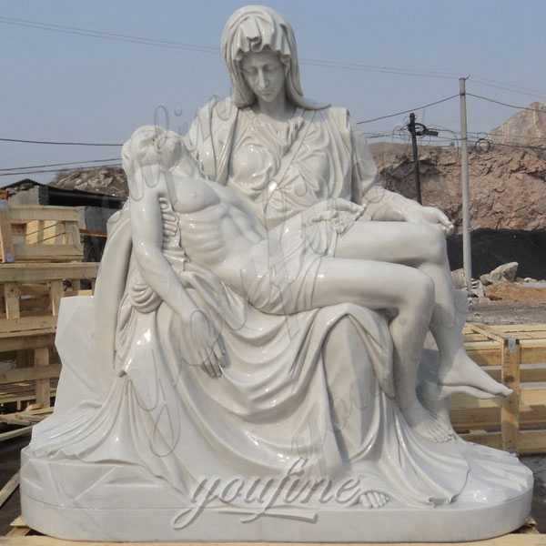 What is the significance of the Pieta by Michelangelo?