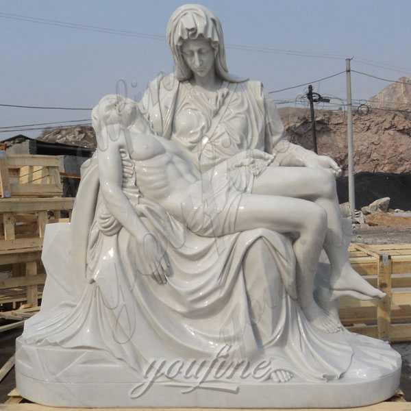 life size famous religious pieta statue