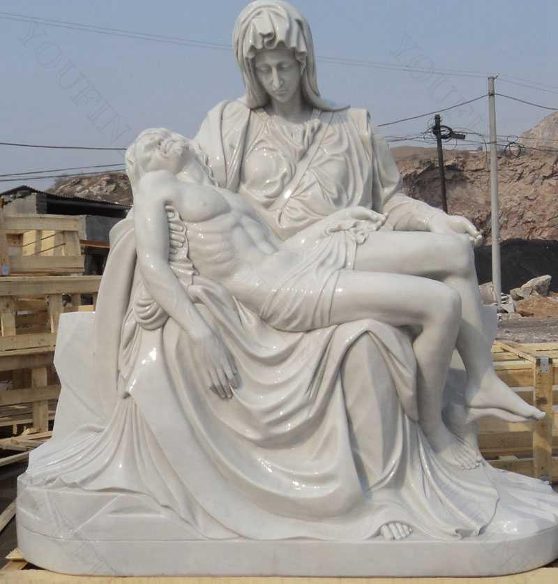 life size famous religious pieta statues for sales