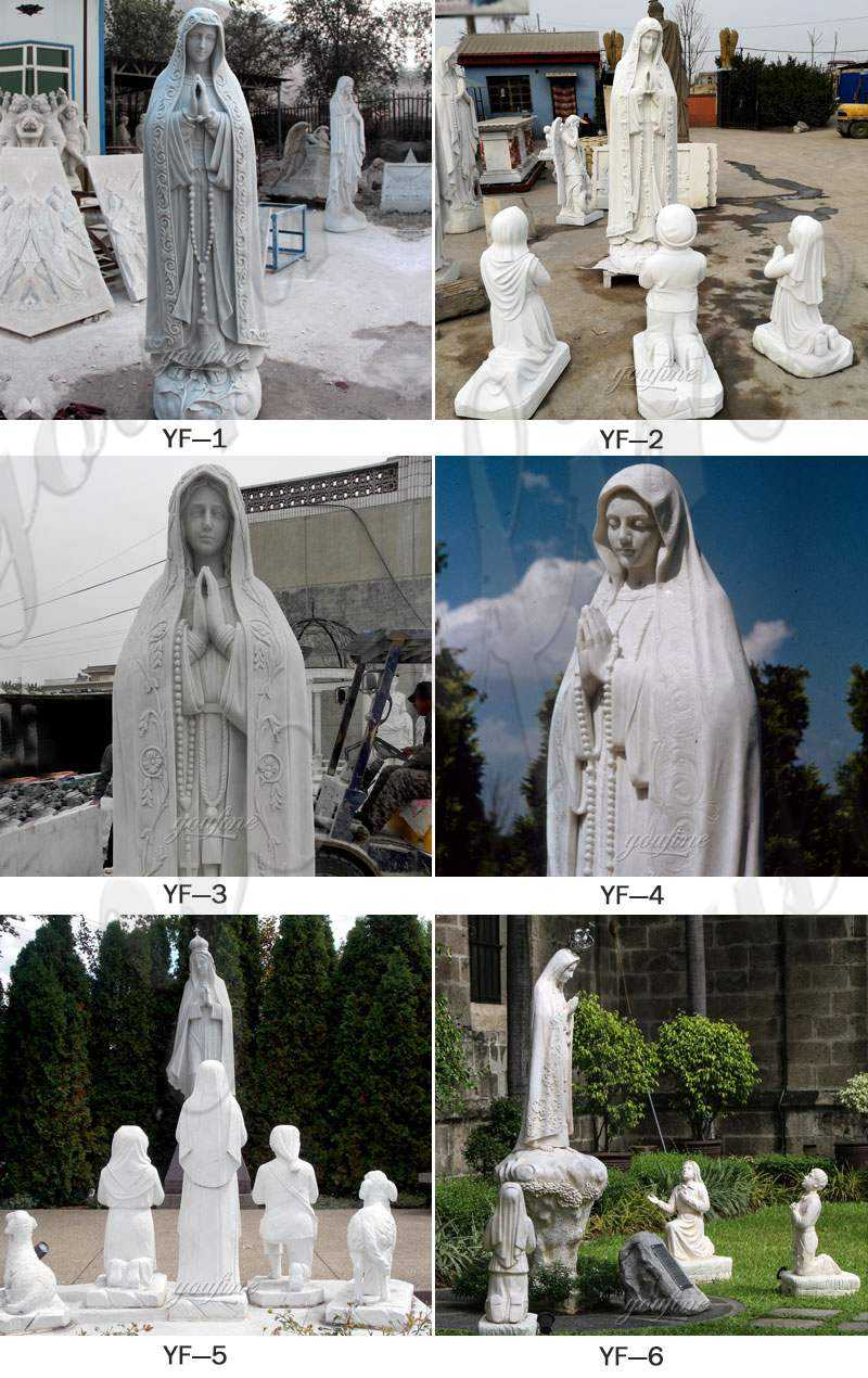 our lady of marble virgin mary statue for sale