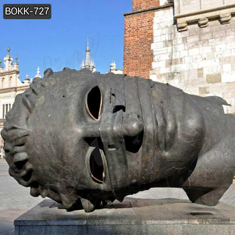 Antique Casting Bronze Bust Sculpture by Igor Mitoraj Online