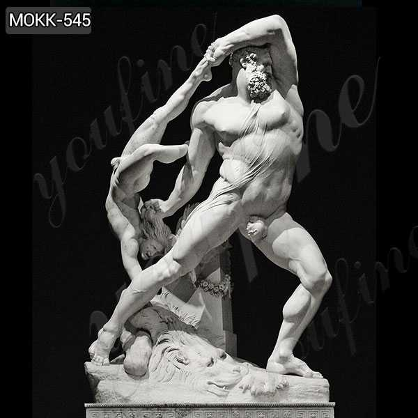 Antonio Canova Famous Art Marble Statue of Hercules and Lichas MOKK-545