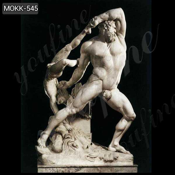 Antonio Canova Famous Art Marble Statue of Hercules and Lichas