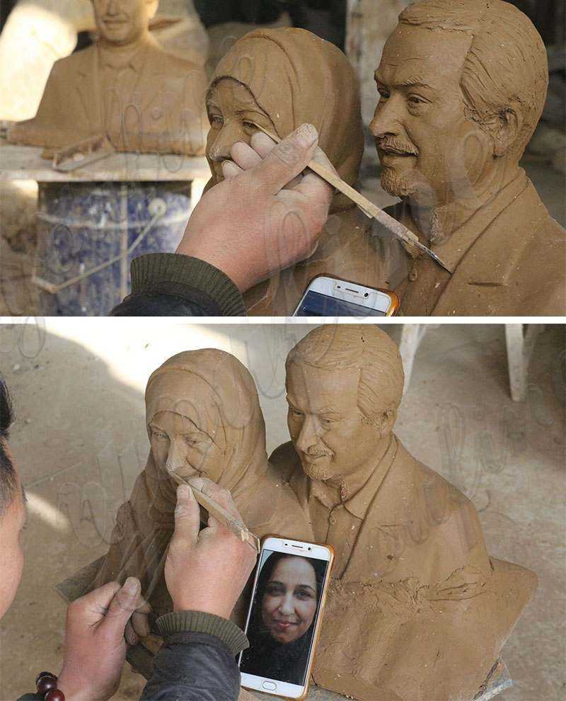 Bronze Figure Statue Custom Sculpture from Photo
