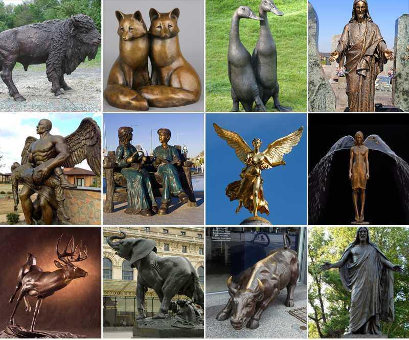 Buy Antique Casting Bronze Bust Sculptures by Igor Mitoraj_副本