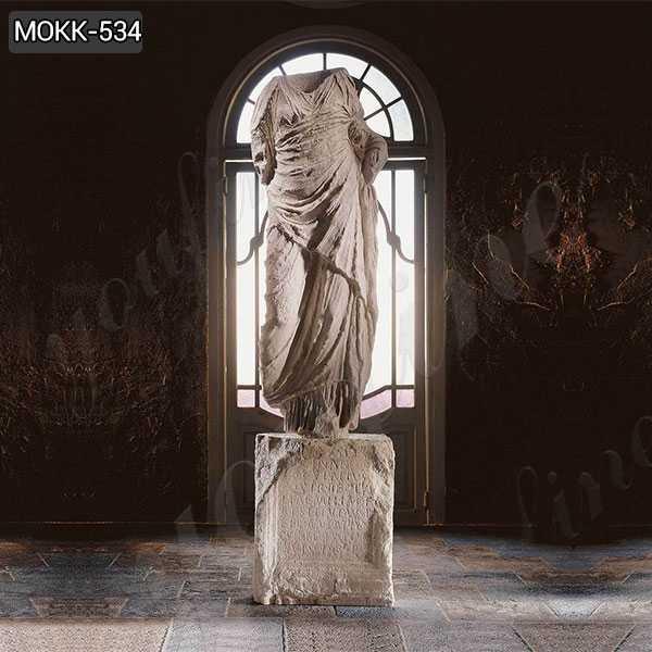 Classic Hand Carved Roman Torso Marble Statue Replica
