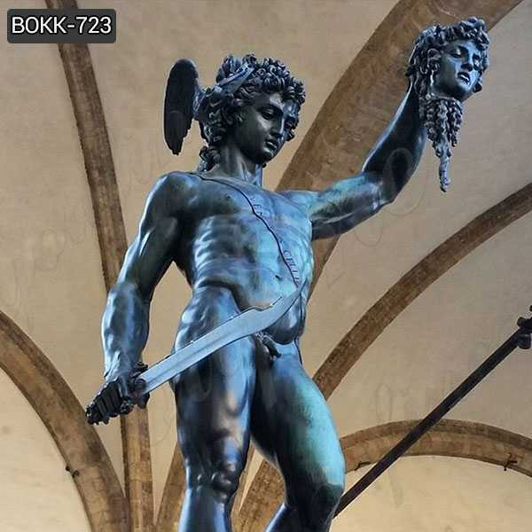 Classical Bronze Perseus with the Head of Medusa Sculpture for Sale BOKK-723