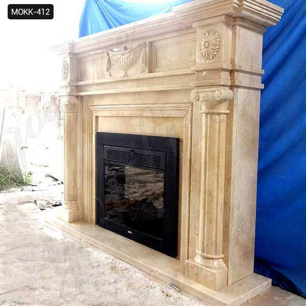 Contemporary Stone Fireplace Mantels and Surrounds Wholesale