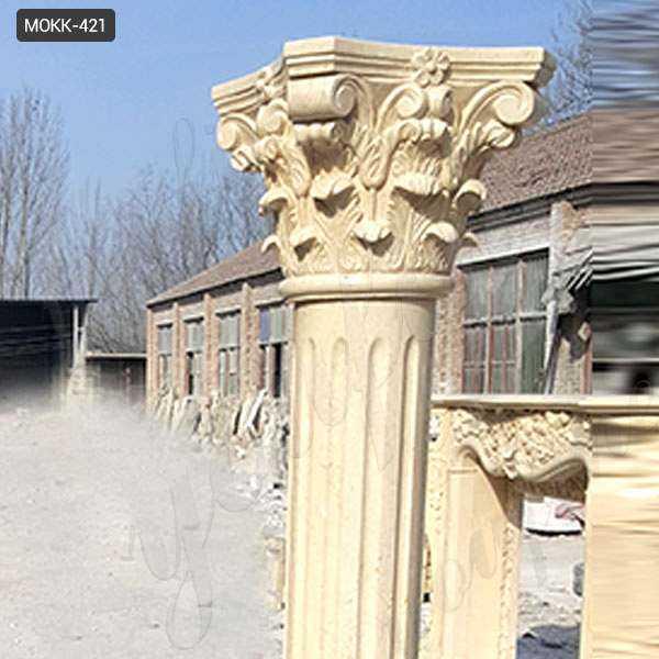 Decoration Roman Corinthian Marble Columns for Sale