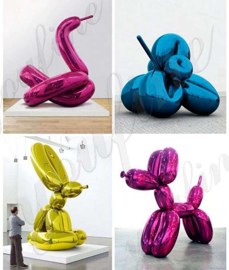 Distinctive Artist Jeff Koons and His Balloon Dog Sculptures
