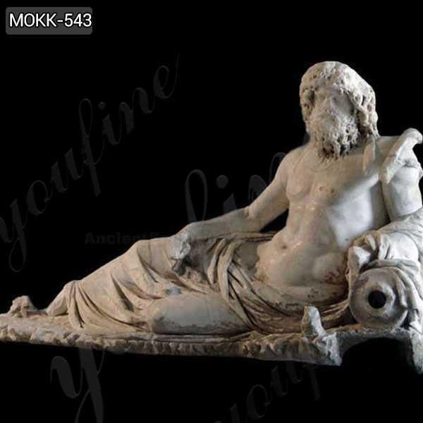 Ephesus God of the Rivers Oceanus Marble Statue