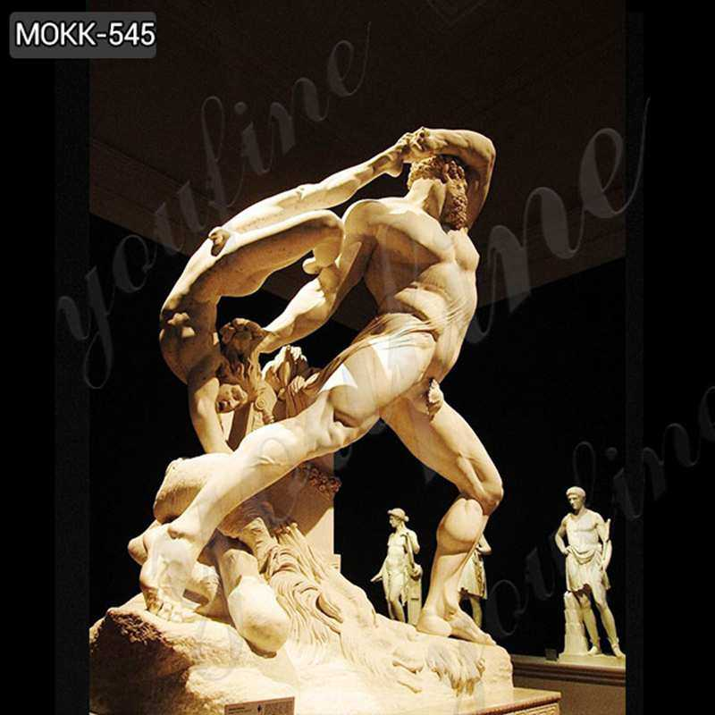 Famous Art Marble Statue of Hercules and Lichas