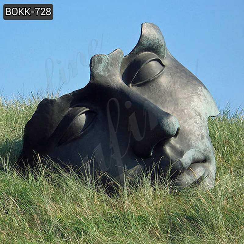 Famous Bronze Mitoraj Sculpture Bust Statue for Sales