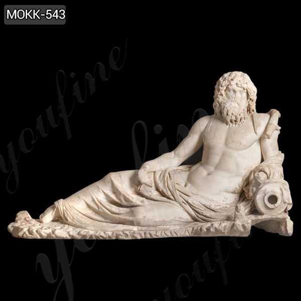 Famous Greek Ephesus God of the Rivers Oceanus Marble Statue