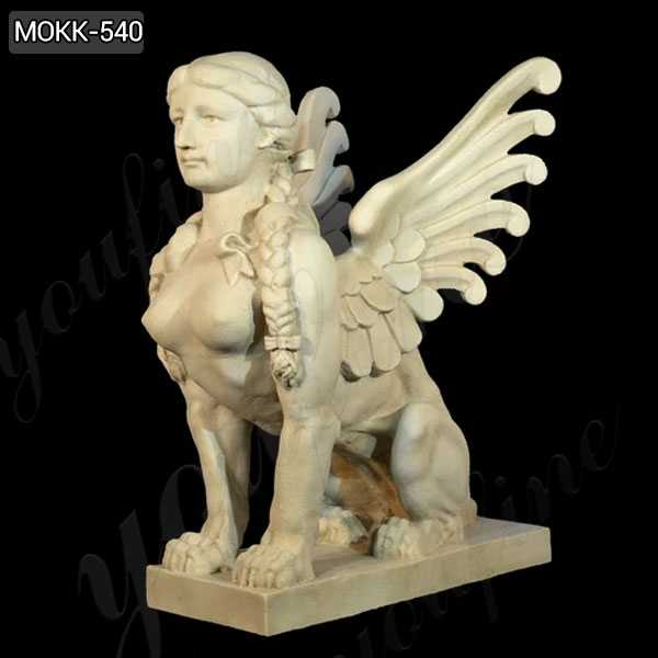 Famous Greek Sphinx Marble Statue for Garden Decoration MOKK-540