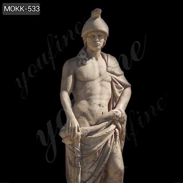 Famous Mars God of War Marble Statue Sculpture