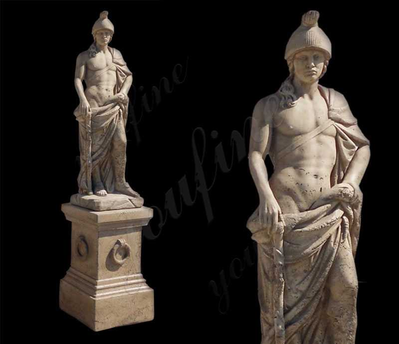 Famous Mars God of War Marble Statue Sculptures