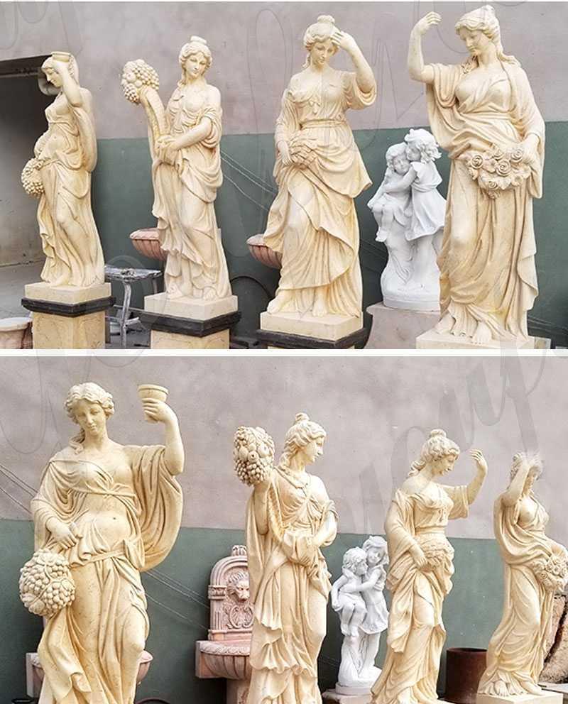 Four Goddesses of the Seasons