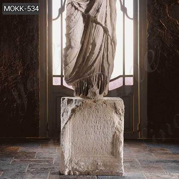 Hand Carved Roman Torso Marble Statue Replica