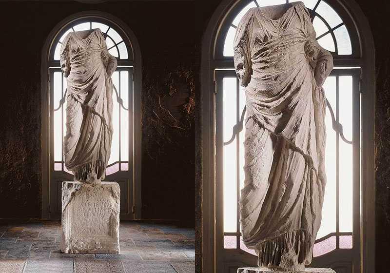 Hand Carved Roman Torso Marble Statue Replicas