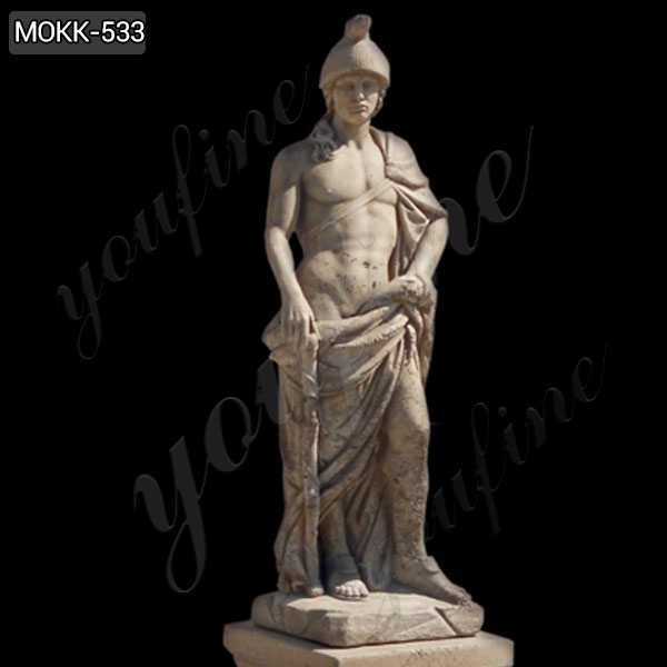 Handmade Famous Mars God of War Marble Statue Sculptures