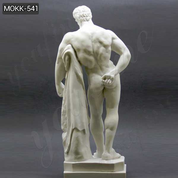 Handmade Marble Farnese Hercules Roman God Statue for sale