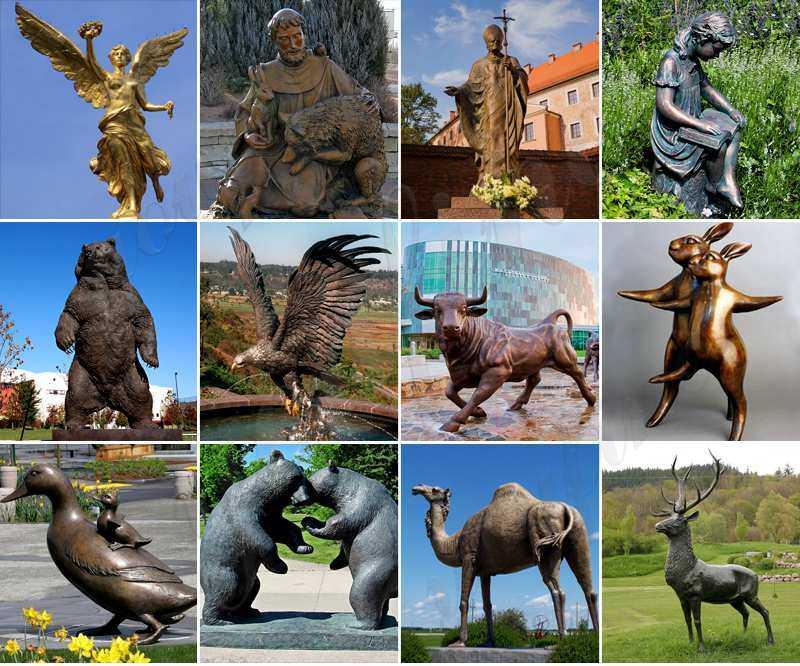 High Quality Famous Bronze Mitoraj Sculpture for Sale
