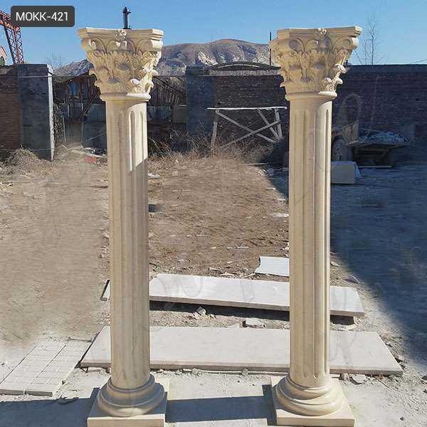 Interior Decoration Roman Corinthian Marble Columns for Sale