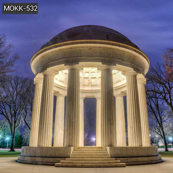 Large Outdoor Luxury Marble Garden Gazebo from Factory Supply MOKK-532