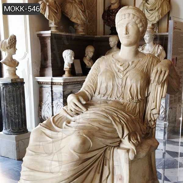Letizia Bonaparte Stone Statue the Mother of Napoleon for sale
