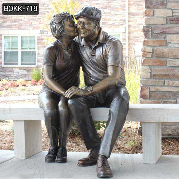 Life Size Bronze Figure Statue Custom Sculpture from Photo BOKK-719