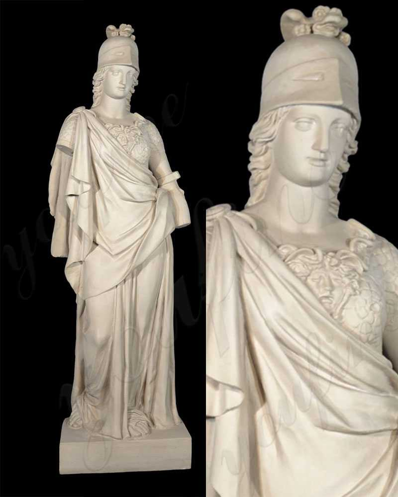 Life Size Roman Statue of Athena Greek Goddess of Wisdom for sales