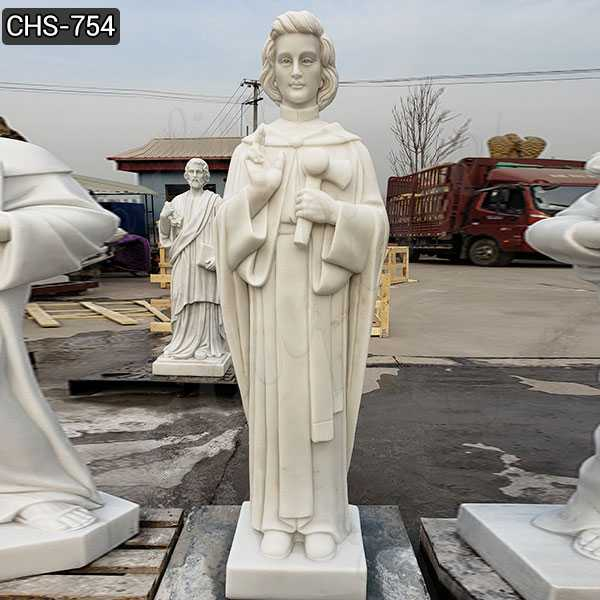 Life Size Saint Peter Chanel Statue Catholic Sculpture for Garden Decoration CHS-754