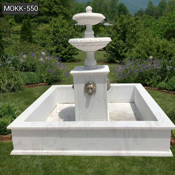 Lowest Price Tiered Marble Water Fountain for Backyard Decor MOKK-550