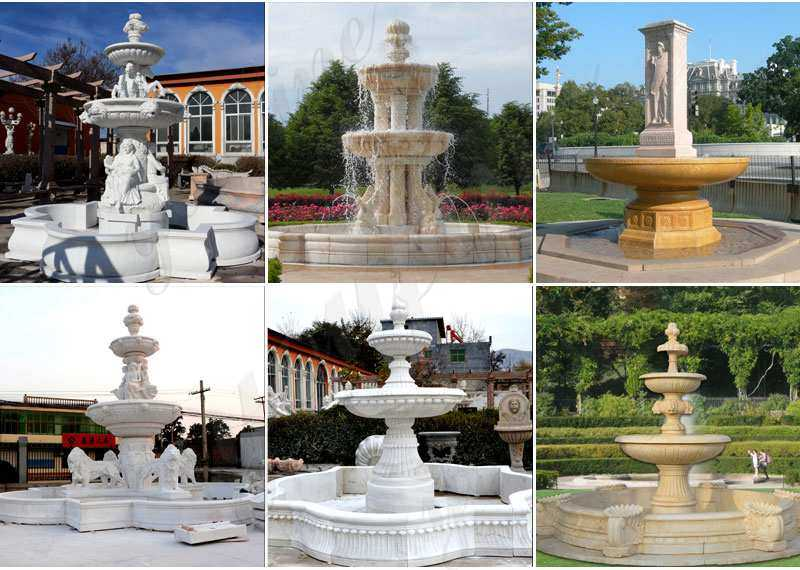 Lowest Price Tiered Marble Water Fountains