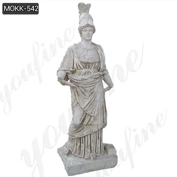 Marble Statue of Athena from Perge Famous Sculpture for Decor
