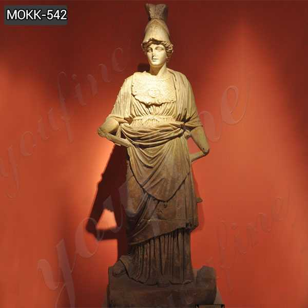 Marble Statue of Athena from Perge Famous Sculpture for Decor MOKK-542
