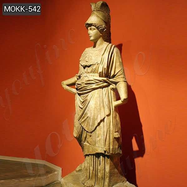 Marble Statue of Athena from Perge Famous Sculptures