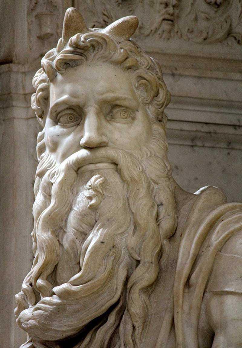 Moses-religious garden statues,