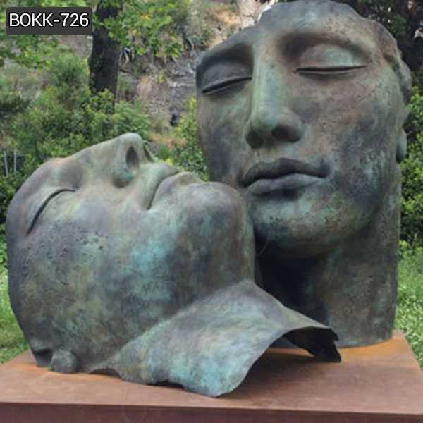 Outdoor Casting Bronze Bust Sculpture by Igor Mitoraj for Sales