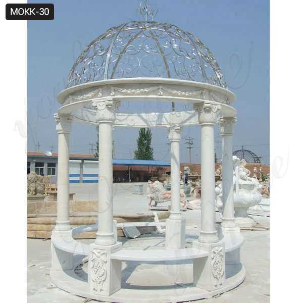 Outdoor Marble Simple Gazebos For Sale