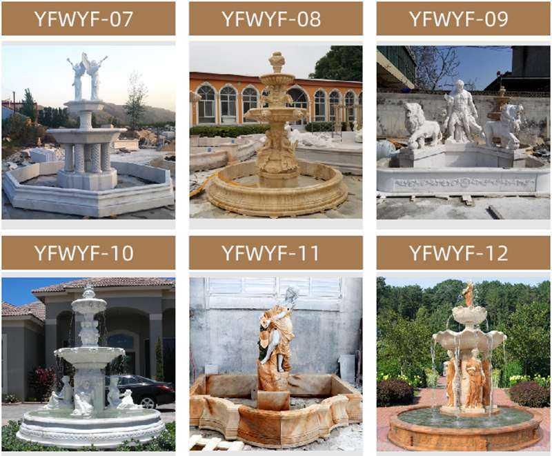 Outdoor Stone Garden Water Fountain for sale