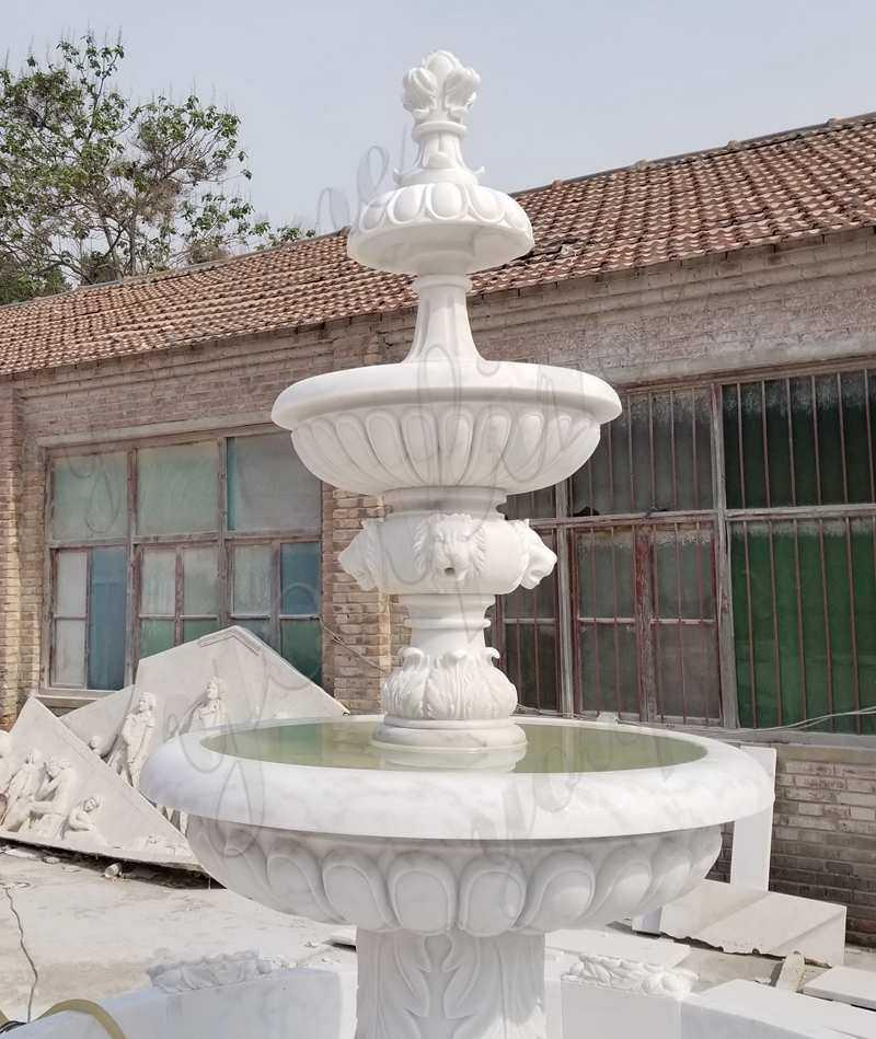 Outdoor Water Marble Fountain for garden