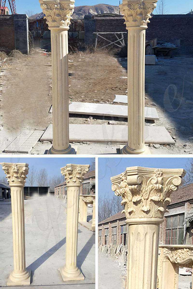 Roman Corinthian Marble Columns for Sale